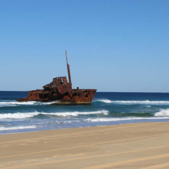 Sygna Wreck Stockton Beach