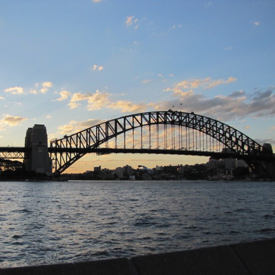 Sydney Bridge Sunset