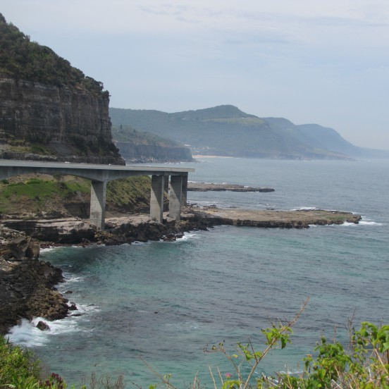 Sea Cliff Bridge South Coast
