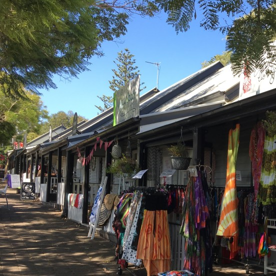 Kiama's historical buildings and shops